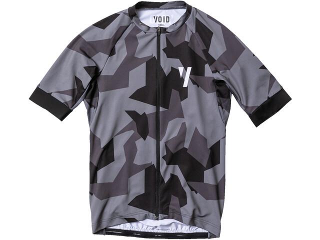 VOID Print SS Jersey Men black shield